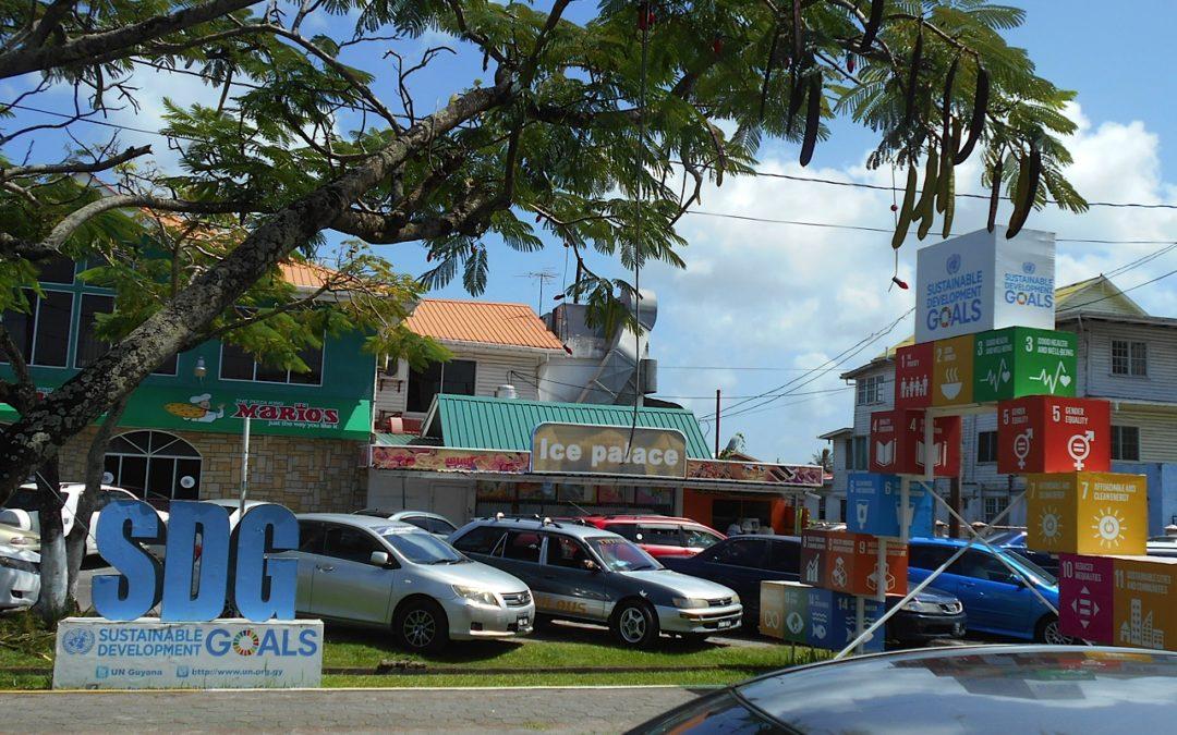 Tara-Marie Andronek Finds SDG Momument in Guyana
