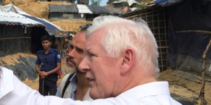 "Event: w/ Hon. Bob Rae, Special Envoy Rohingya Crisis in Myanmar ""TELL THEM WE'RE HUMAN"" – WHAT THE ROHINGYA CRISIS TELLS US ABOUT THE WORLD AND CANADA'S FOREIGN POLICY CHOICES   ‪Monday, April 23, 2018‬"
