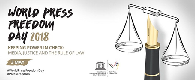 World Press Freedom Day 2018 May 3