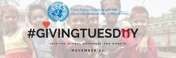 #GivingTuesday #UNACanada